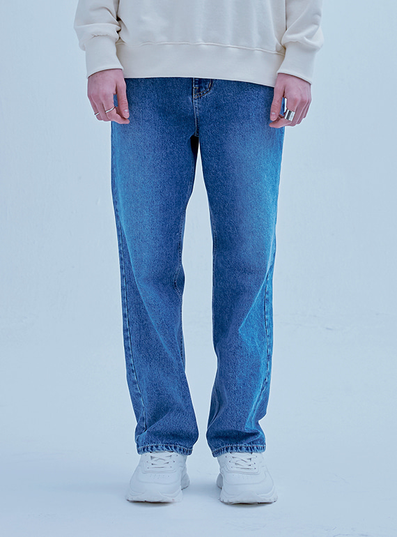 FOLDED DENIM BLUE