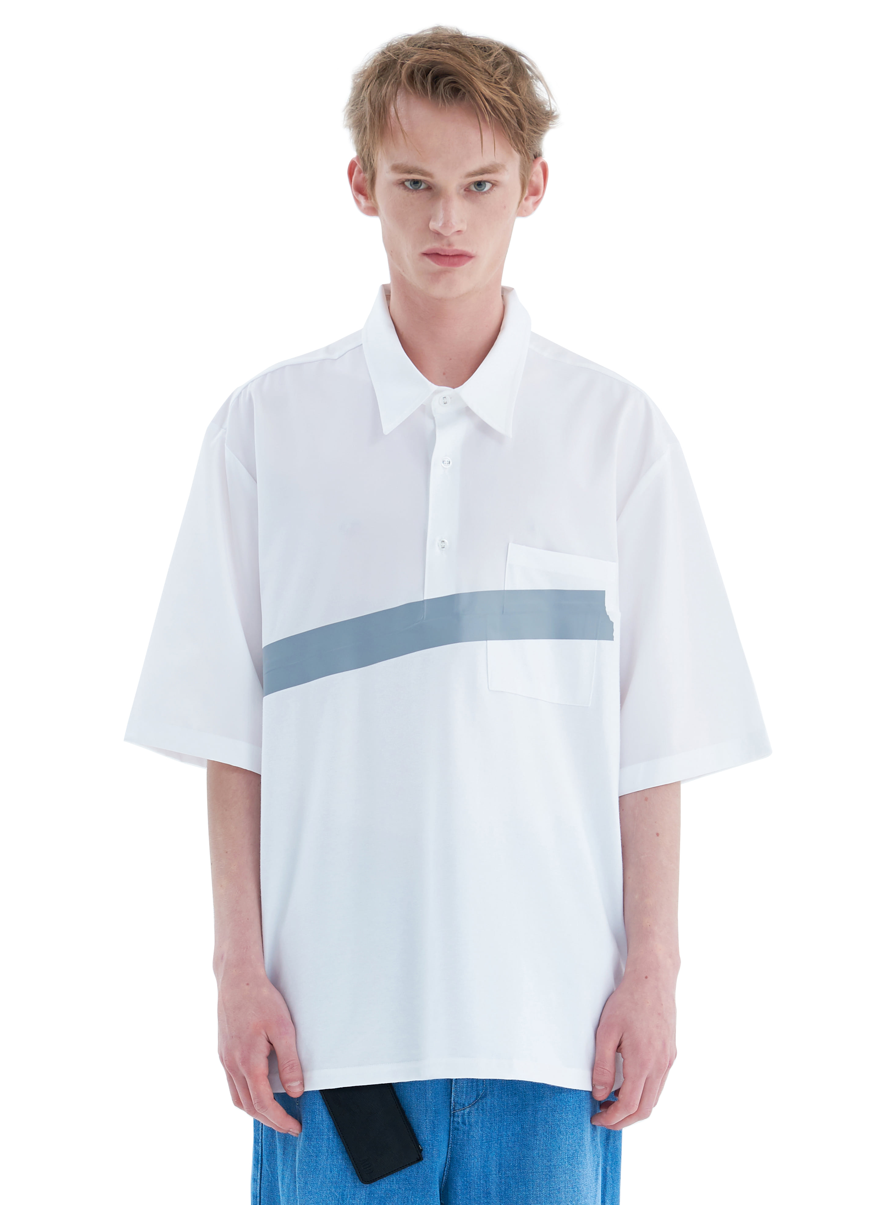 BOX TAPE SHIRT A WHITE [PRE-ORDER 6/11]