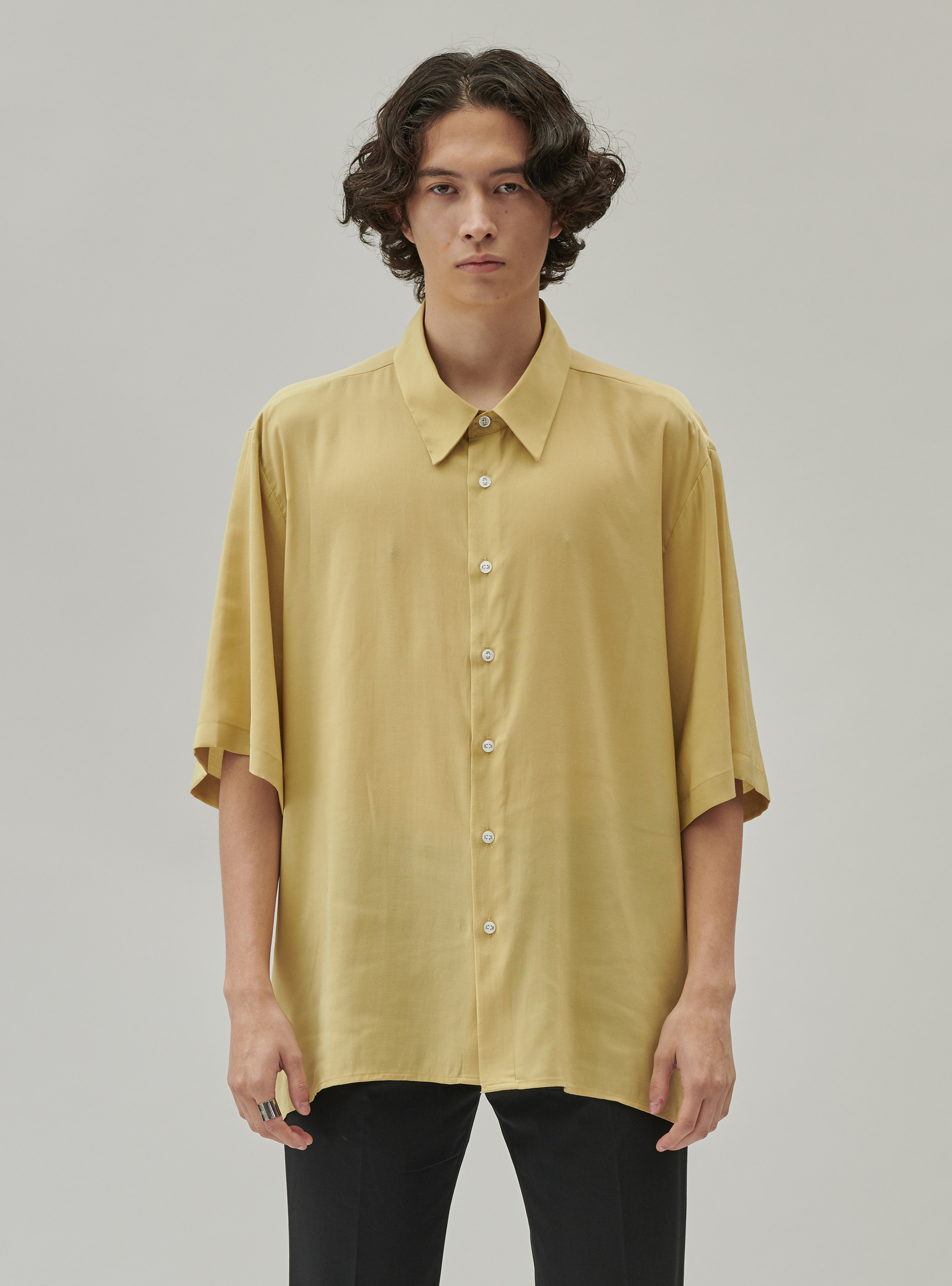 BAMBOO SHIRT YELLOW