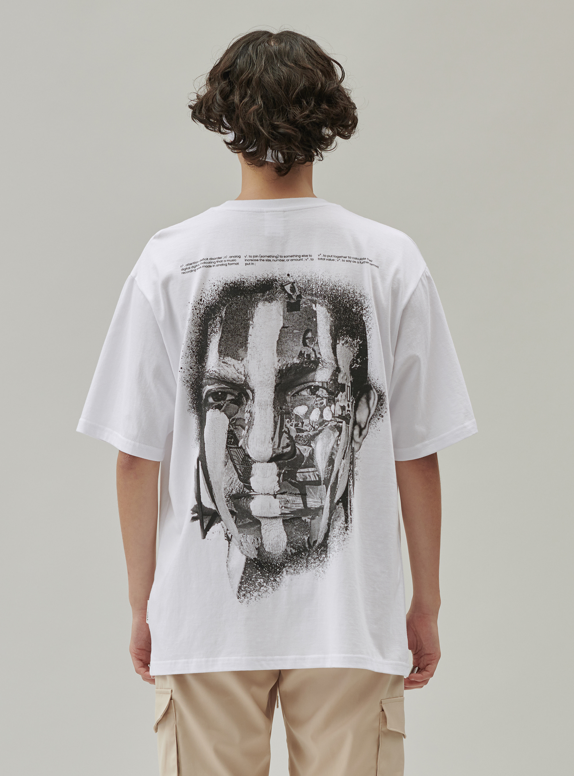 FACE PAINTING TEE WHITE