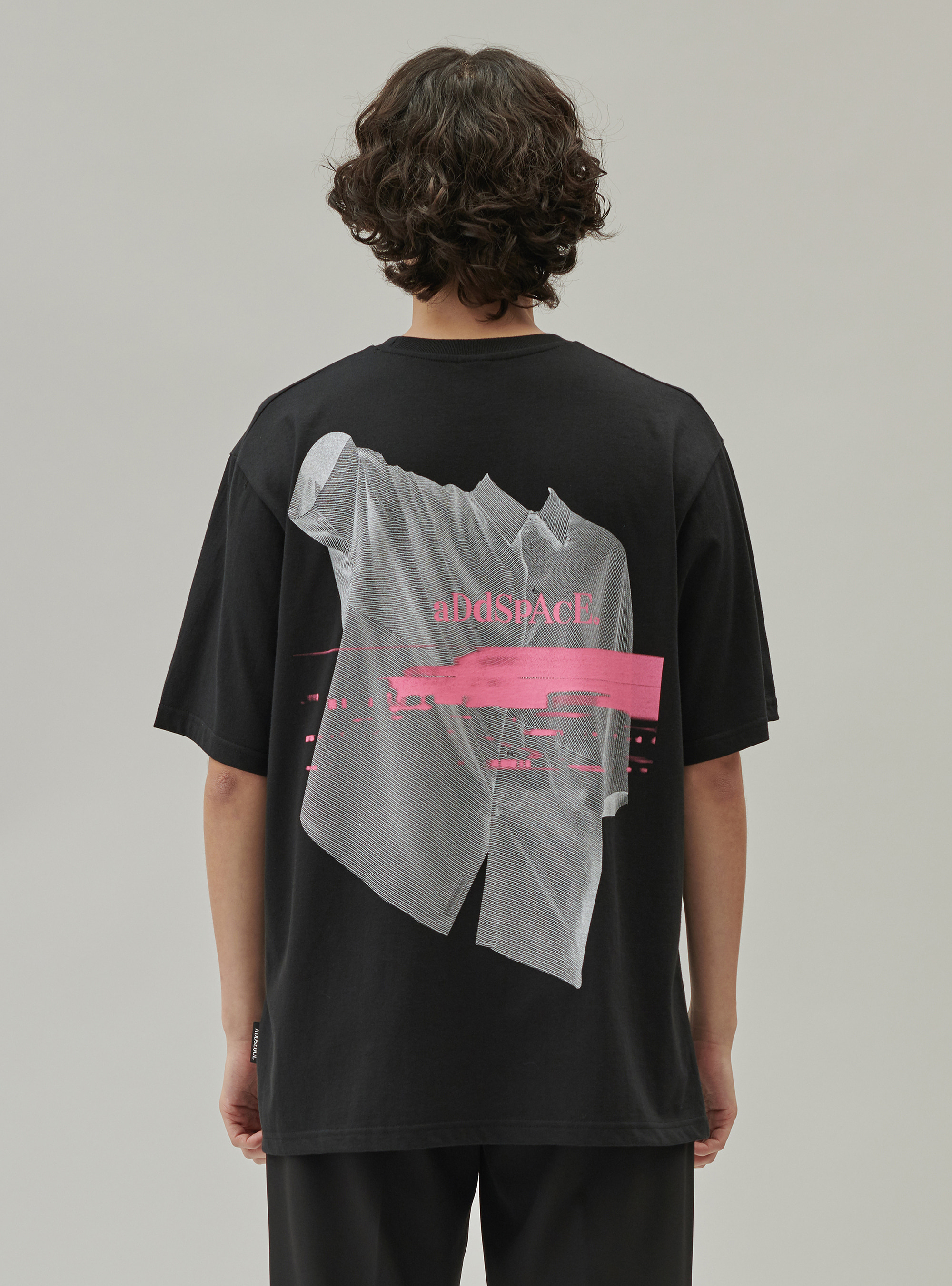 ADD SHIRT GRAPHIC A TEE BLACK