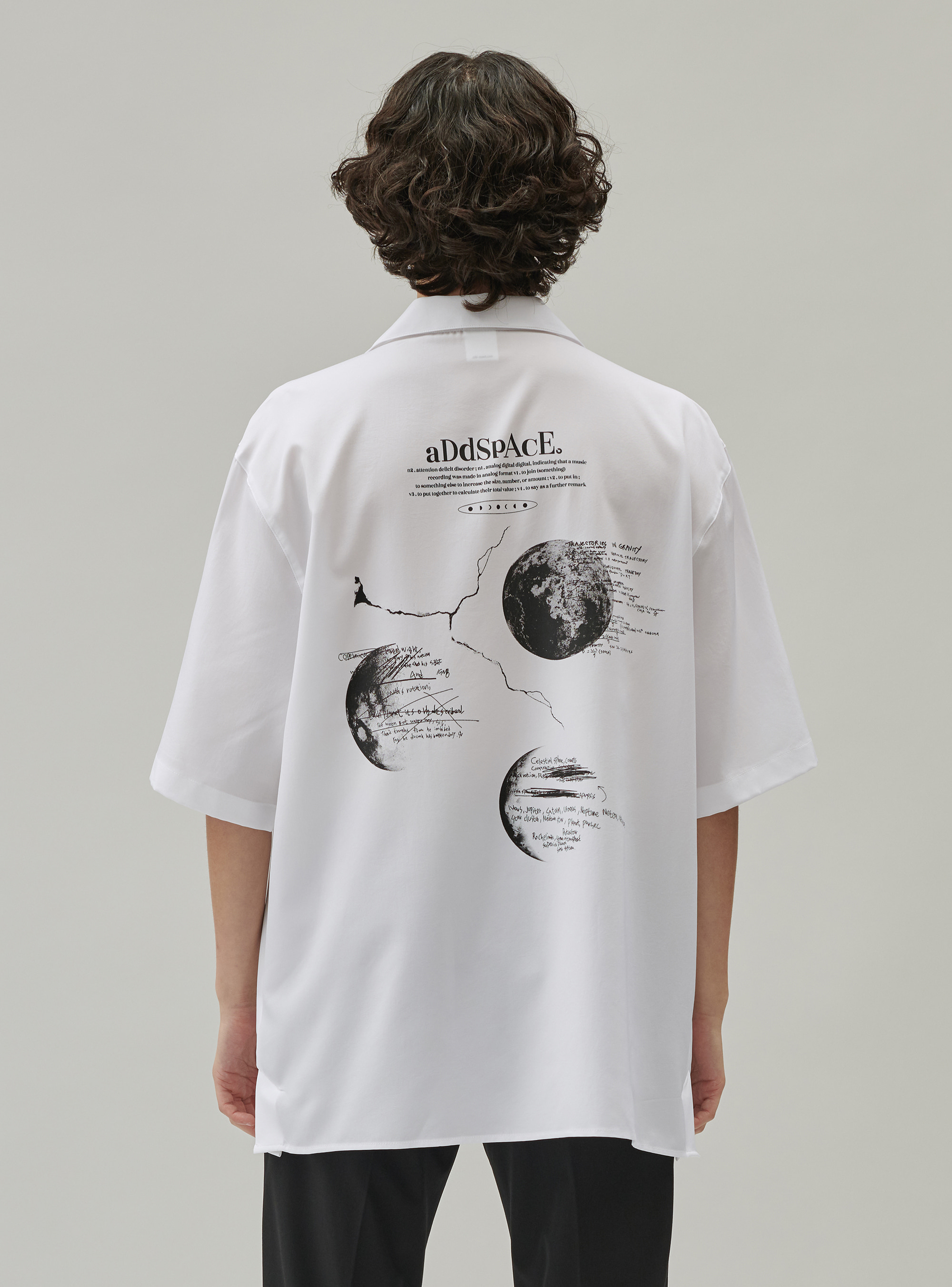 ADD PLANET SHIRT WHITE