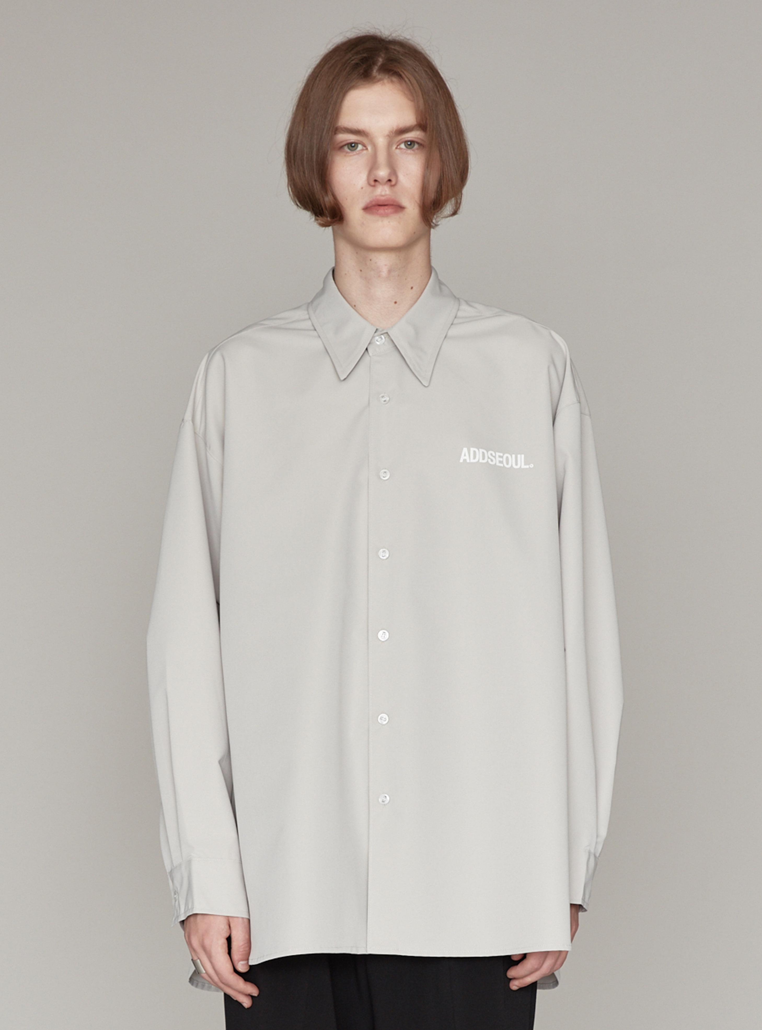 LOGO AVANTGARDE SHIRT GREY