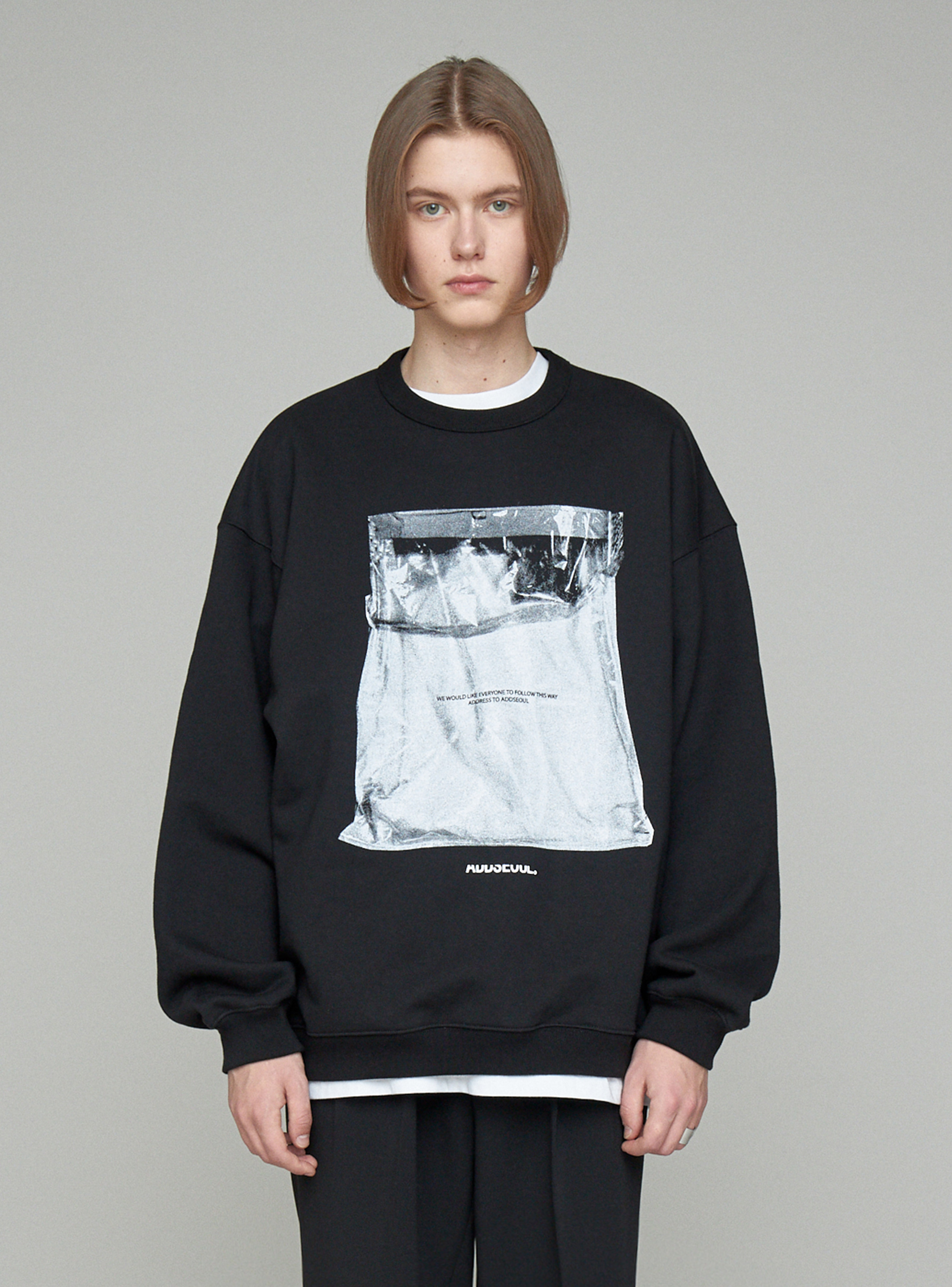 PARCEL SWEATSHIRT BLACK