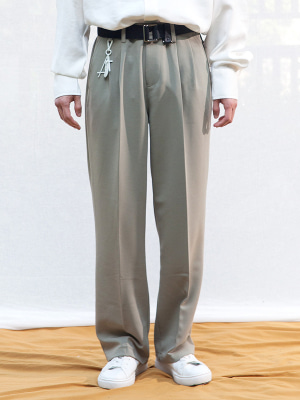 VENIS SUPER WIDE SLACKS KHAKI