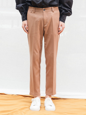 LONG LEG SLACKS BROWN