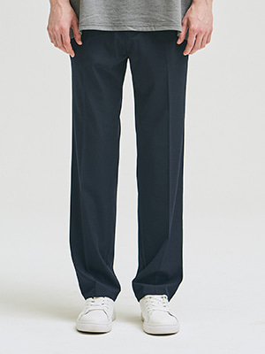 LONG WIDE SLACKS NAVY