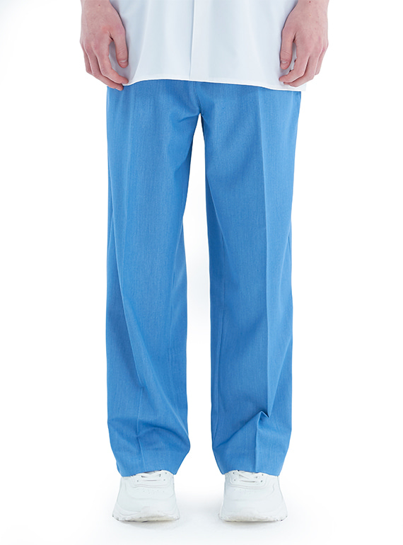 BOX TAPE PANTS BLUE