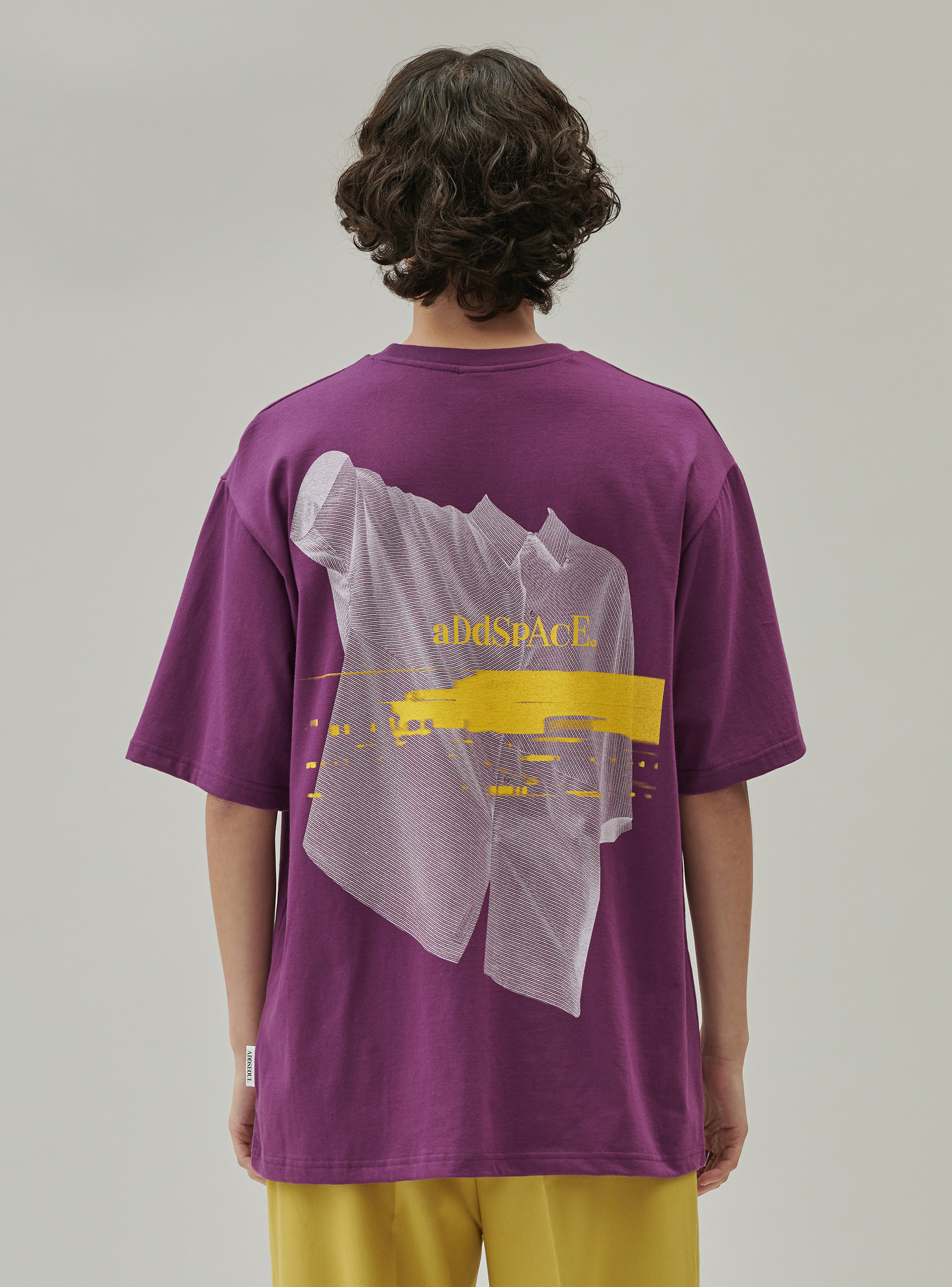 ADD SHIRT GRAPHIC A TEE PURPLE