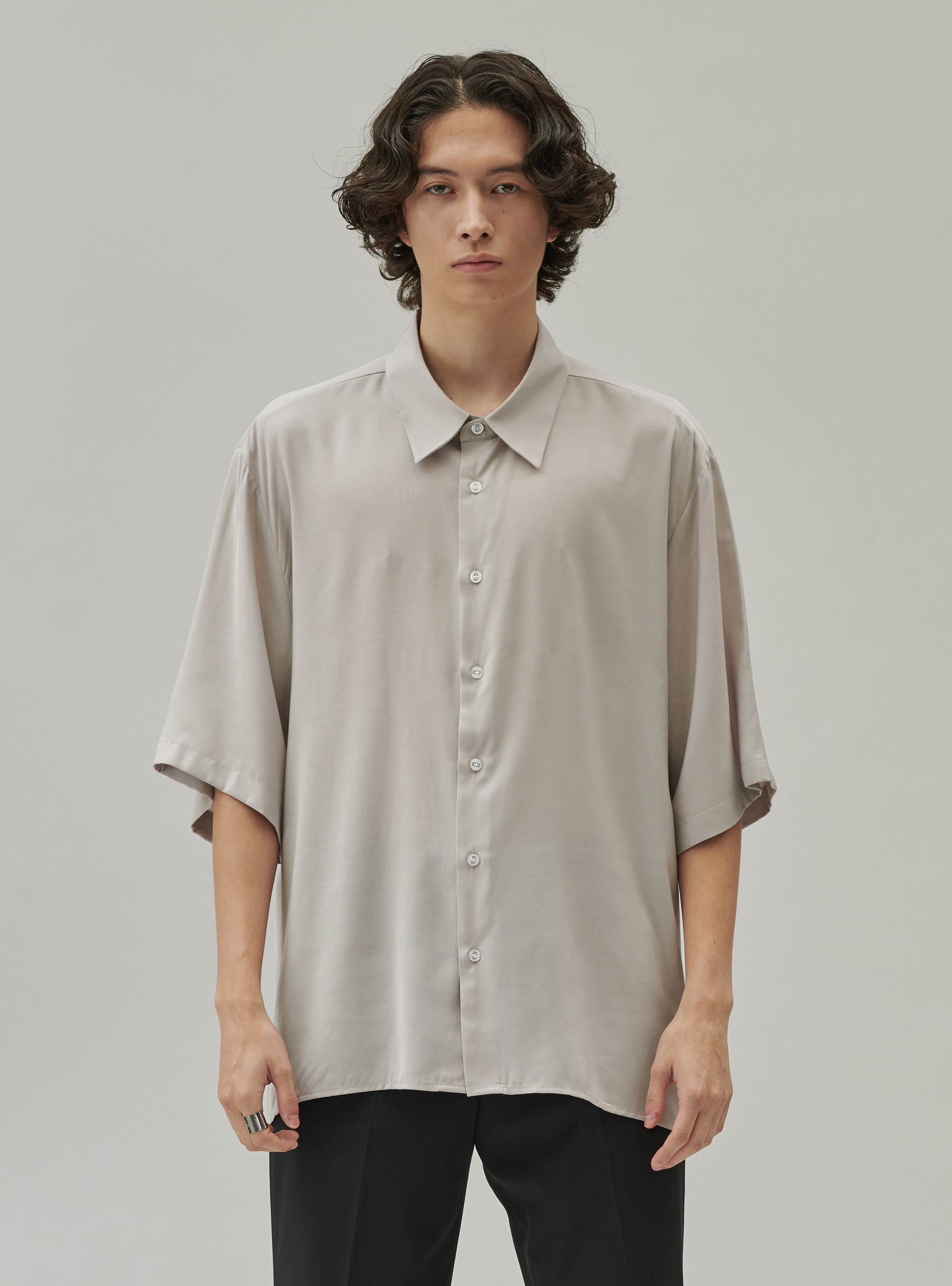 BAMBOO SHIRT GRAY