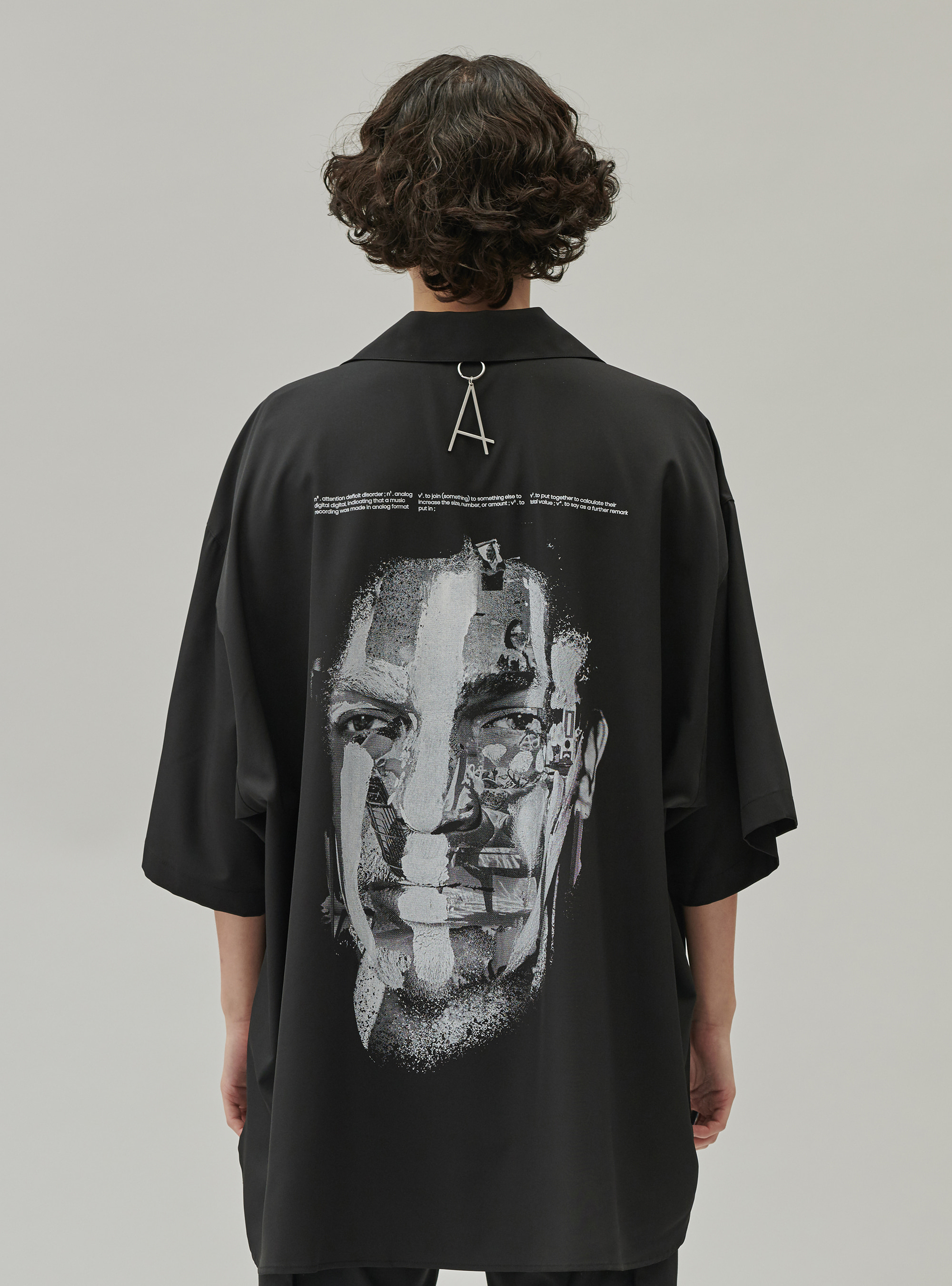 FACE PAINTING SHIRT BLACK