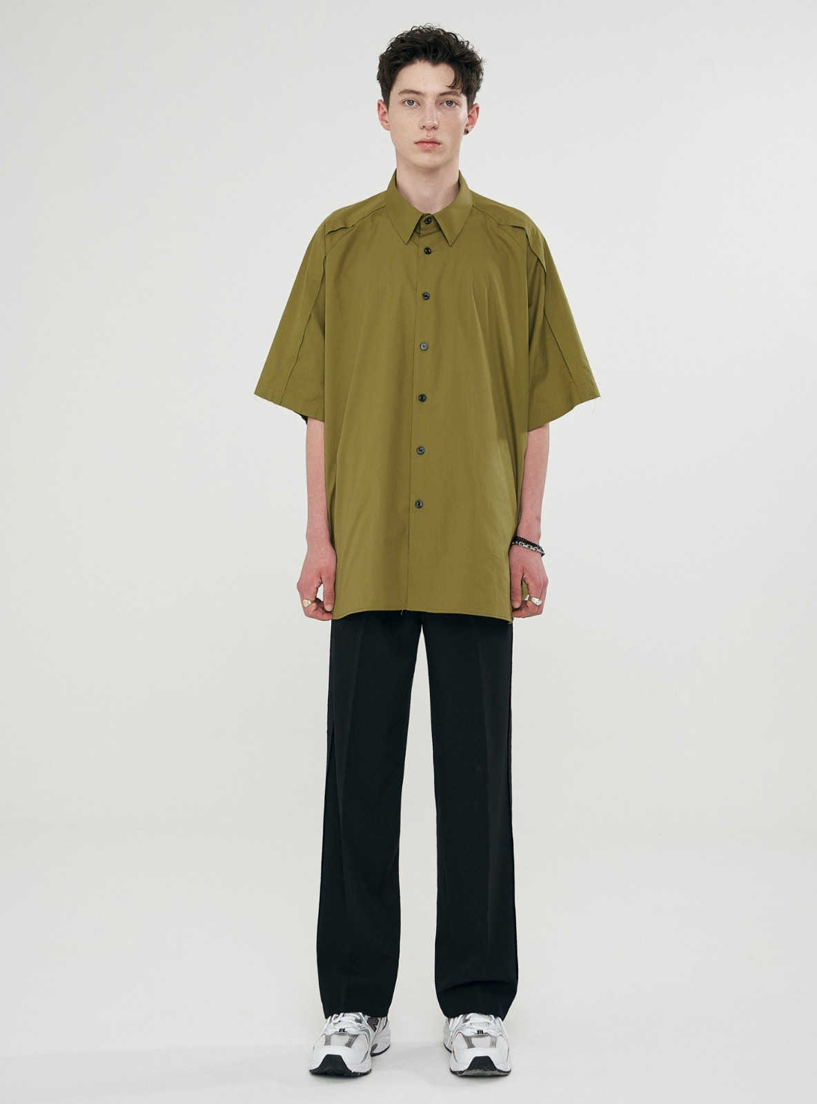 RAW EDGE AVANTGARDE SHIRT KHAKI