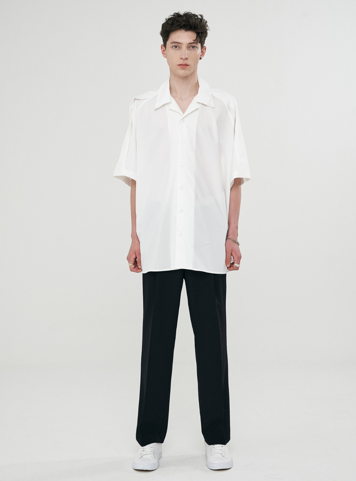 FOLDED AVANTGARDE SHIRT WHITE