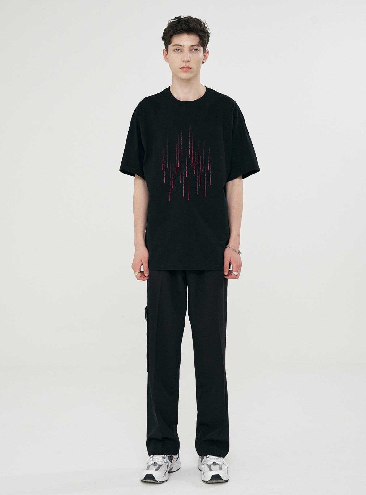 RAIN GRAPHIC TEE BLACK