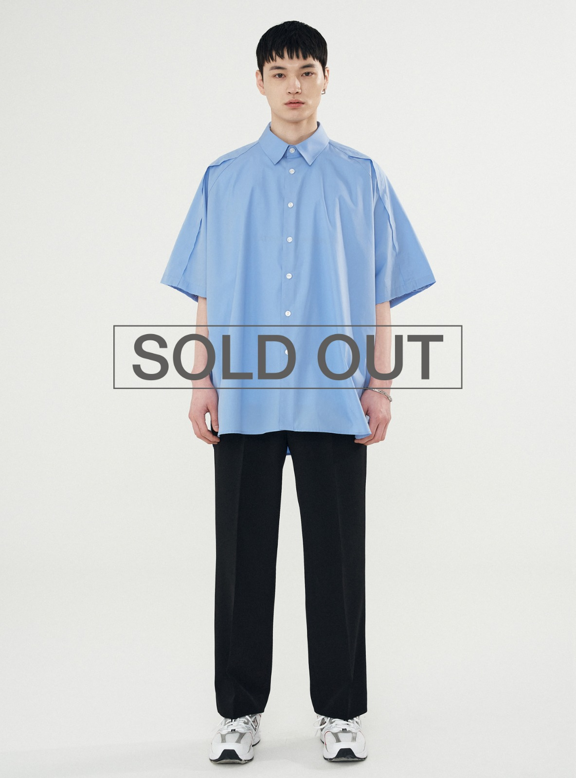 RAW EDGE AVANTGARDE SHIRT LIGHT BLUE