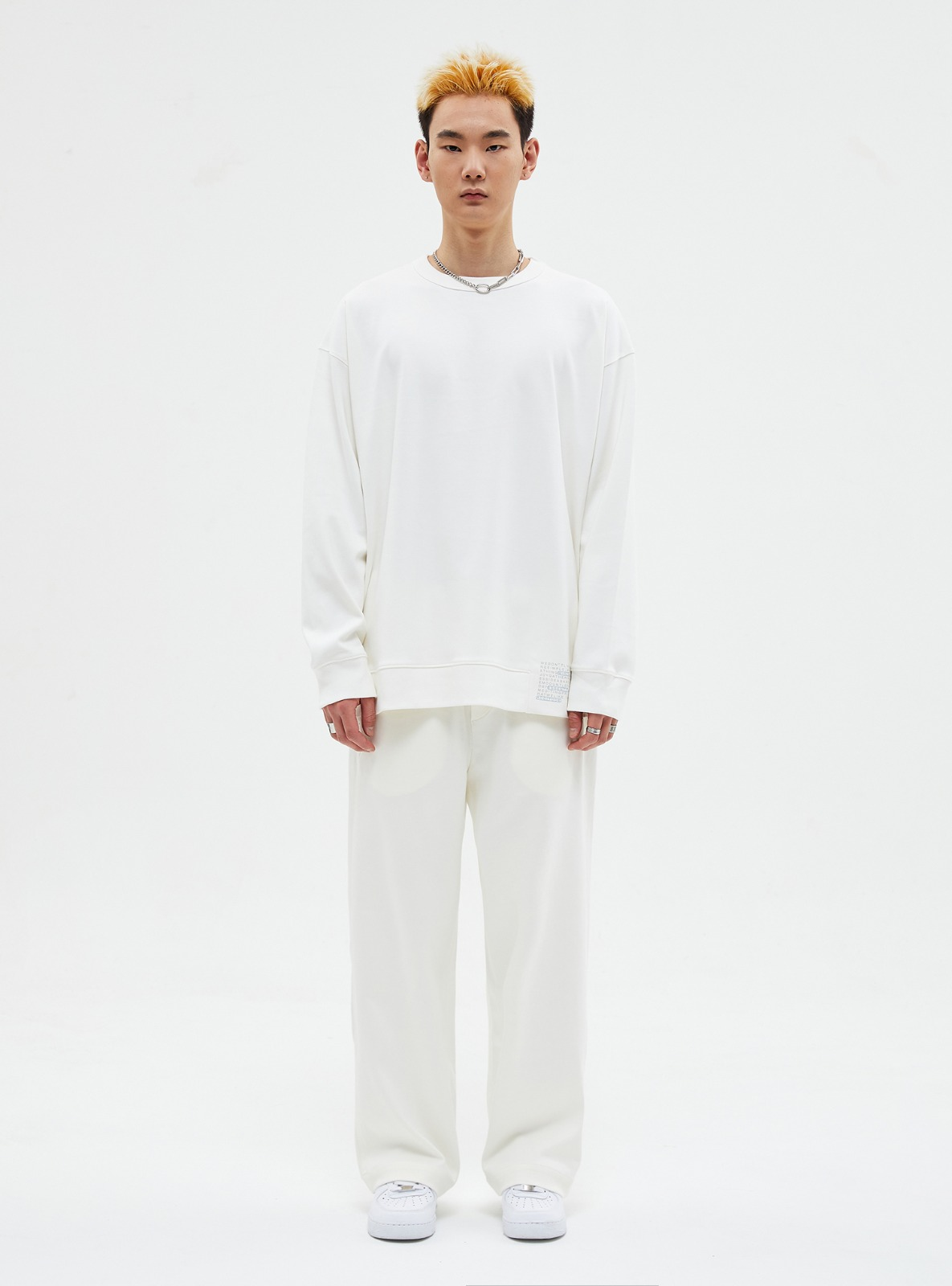 자체브랜드 - SET-UP TRAINING SWEATPANTS IVORY