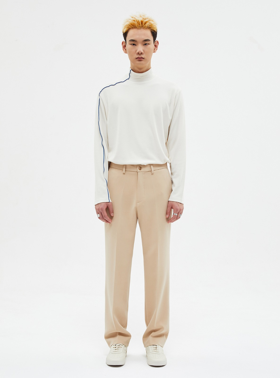자체브랜드 - LONG WIDE SLACKS BEIGE_FW