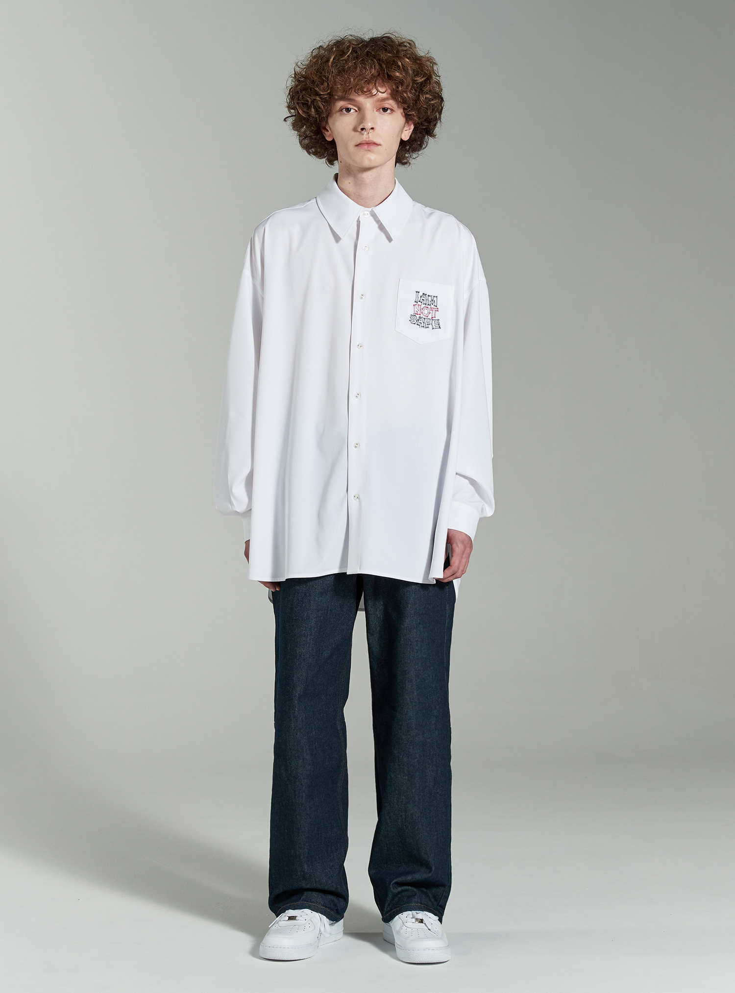 자체브랜드 - SIGNAL AVANTGARDE SHIRT WHITE