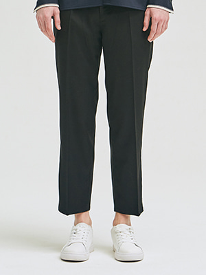 SEMI WIDE SLACKS BLACK