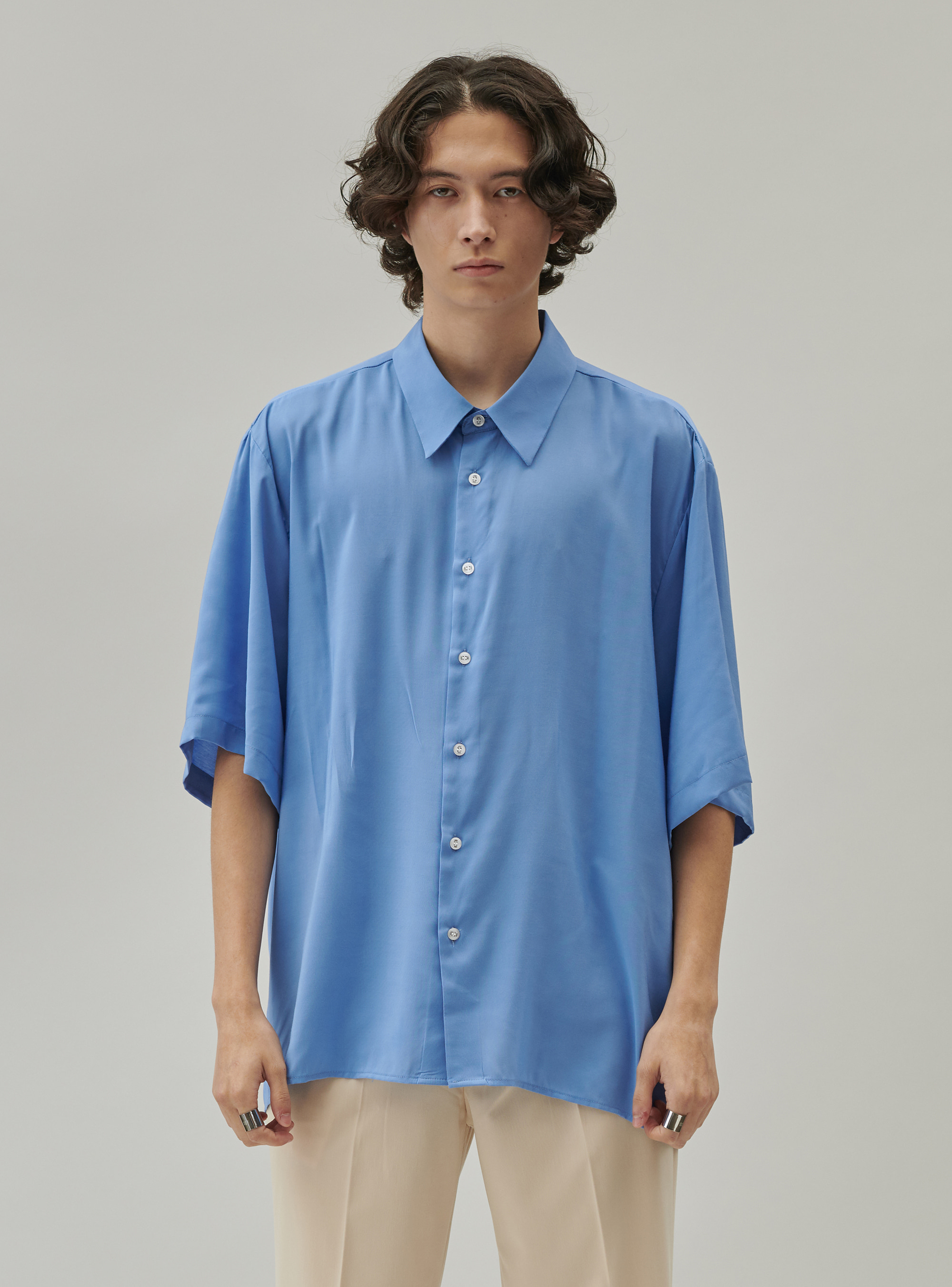 BAMBOO SHIRT BLUE