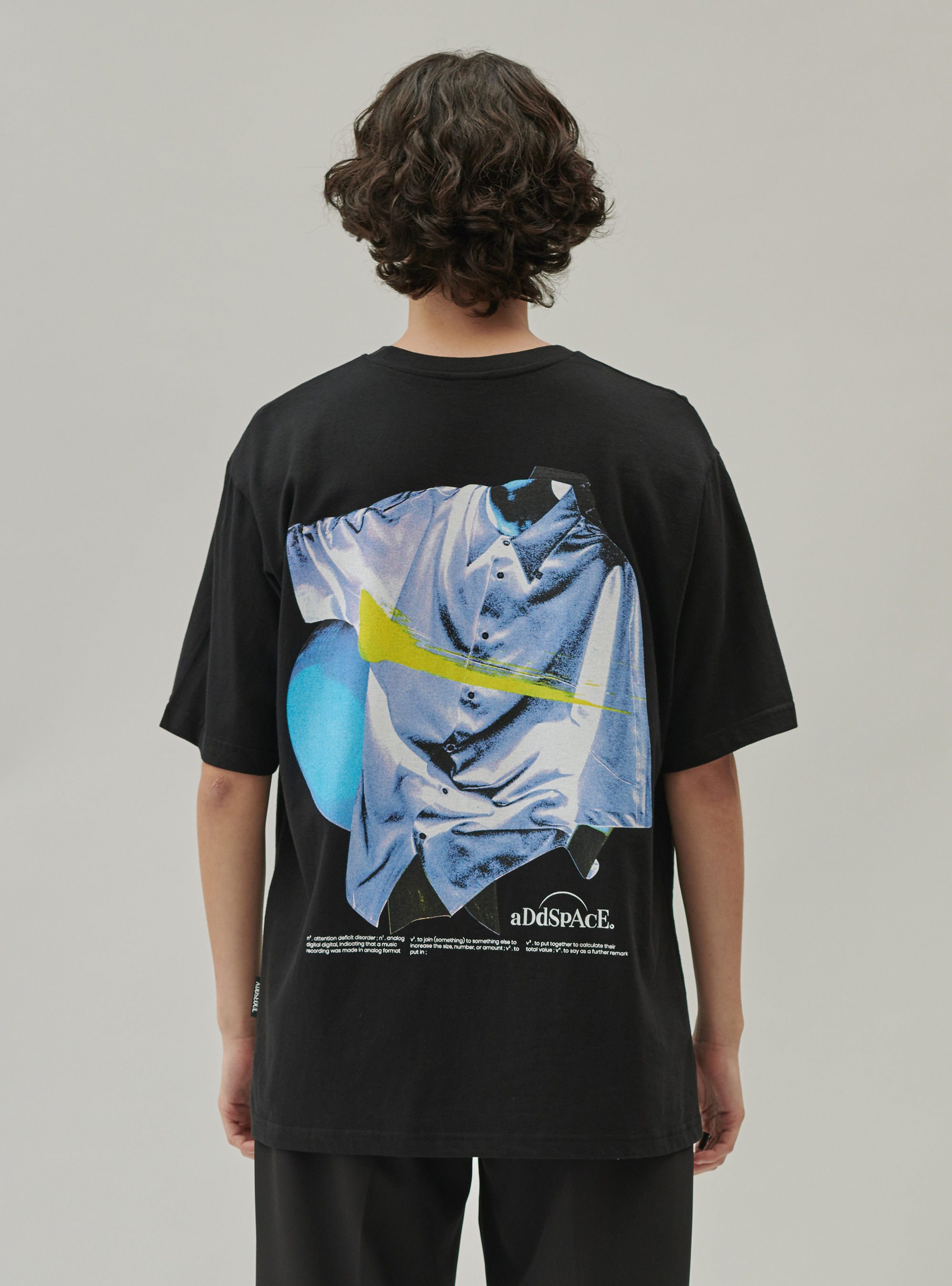 ADD SHIRT GRAPHIC C TEE BLACK