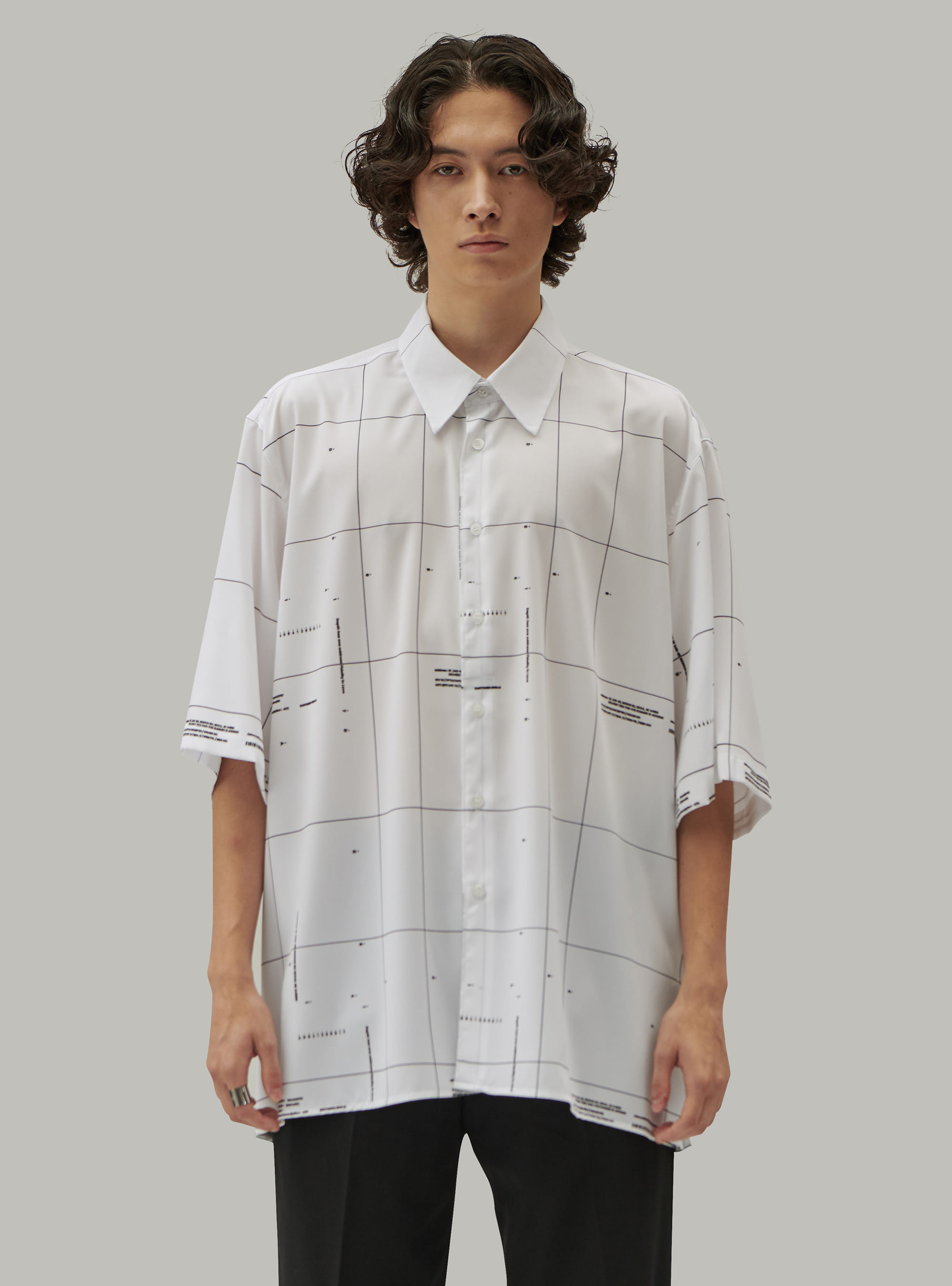 GRID STANDARD SHIRT WHITE