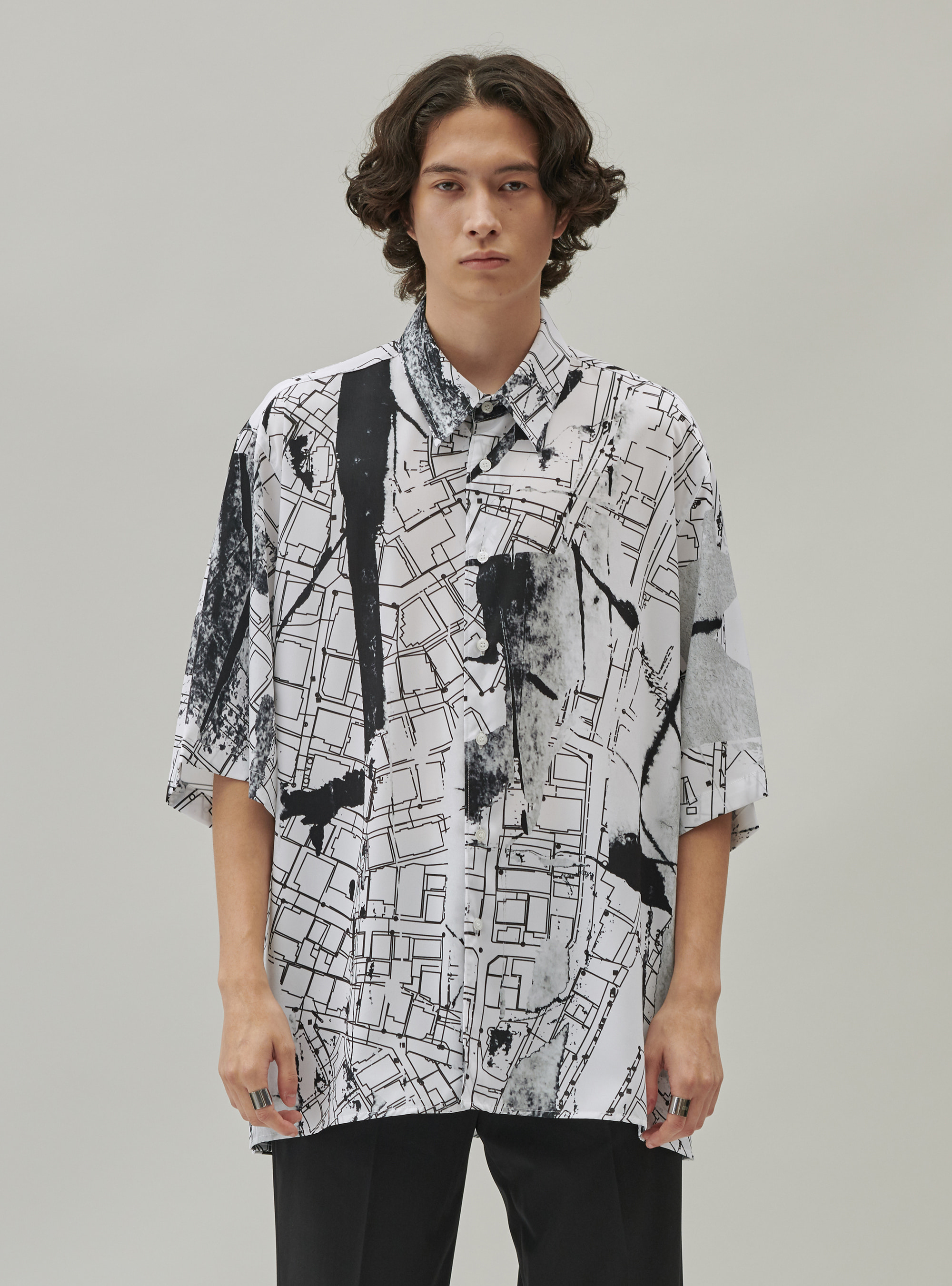 MAP STANDARD SHIRT WHITE