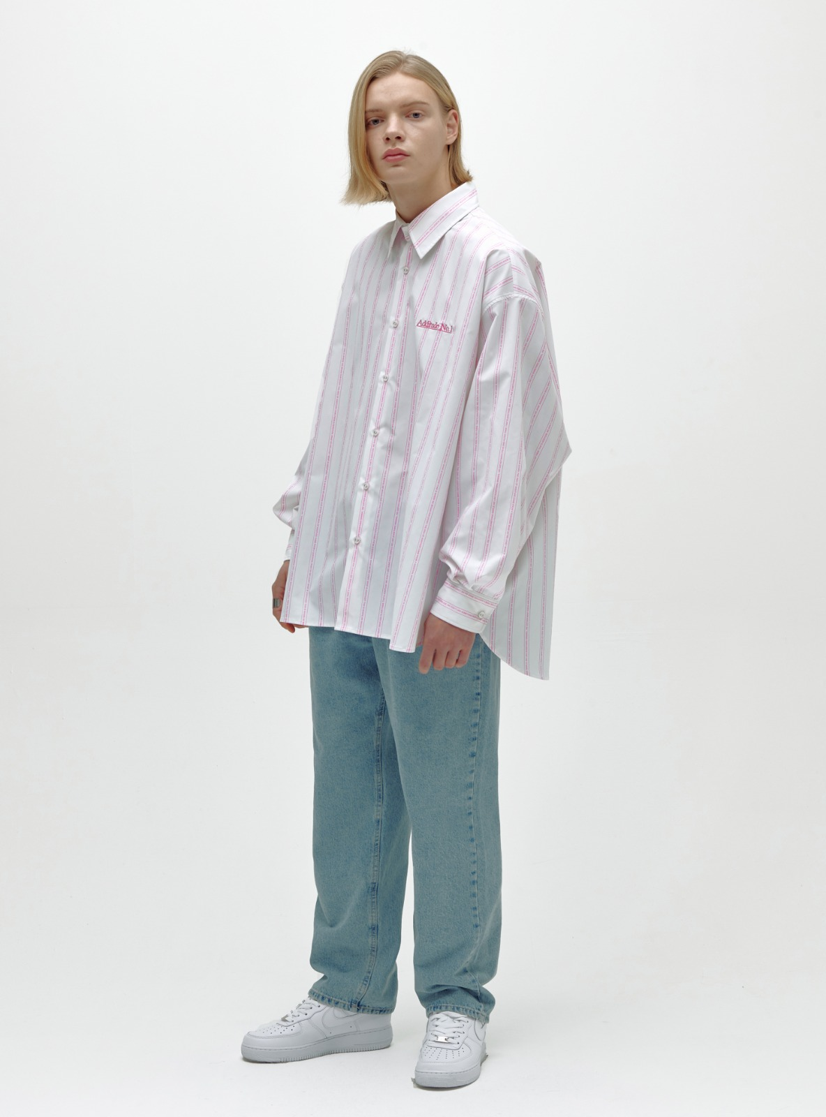 ADDITUDE No.1 AVANTGARDE SHIRT PINK
