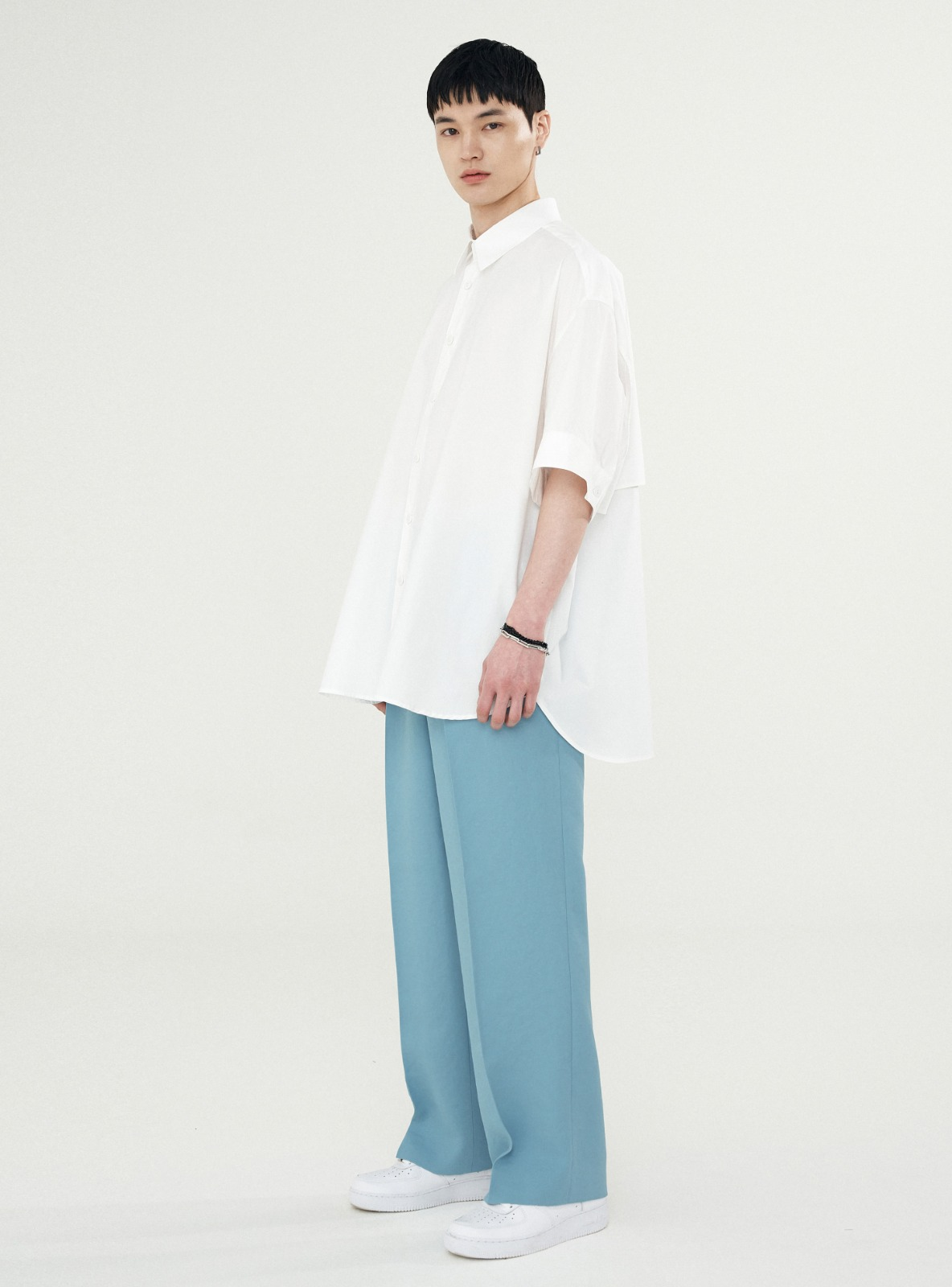 EXTRA SUPER WIDE SLACKS_LINEN MINT