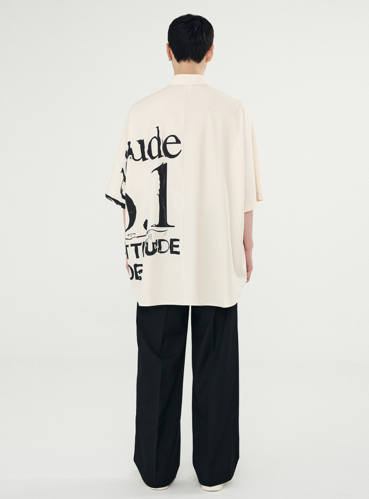 ADDITUDE No.1 AVANTGRADE SHIRT BEIGE