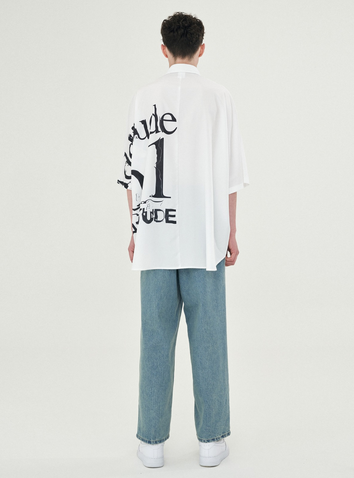 ADDITUDE No.1 AVANTGARDE SHIRT WHITE